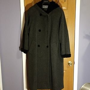Petites Bromley Long Lined Trench Coat Sz 12P